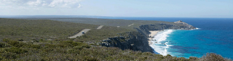 Kangaroo island off the South Australia coastline